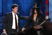 Charlie Sheen and Slash Photos Photo