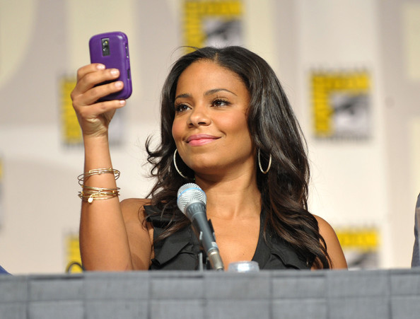 Does sanaa lathan have kids