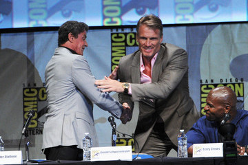 """Sylvester Stallone Dolph Lundgren Comic-Con International 2012 - """"The Expendables 2 - Real American Heroes"""" Panel"""
