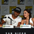 Ricky Whittle and Lindsey Morgan Photos
