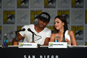 Ricky Whittle and Lindsey Morgan Photos Photo