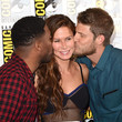 Rhona Mitra Becomes a Man Sandwich