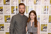 Singer/actor Justin Timberlake and actress Anna Kendrick attend the DreamWorks Animation press line during Comic-Con International 2016  at Hilton Bayfront on July 21, 2016 in San Diego, California.