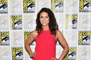 """Actress Melissa Ponzio at the """"Teen Wolf"""" Press Line during Comic-Con International 2017 at Hilton Bayfront on July 21, 2017 in San Diego, California."""