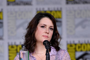 """Melanie Lynskey speaks onstage at Hulu's World Premiere Screening of """"Castle Rock"""" during Comic-Con International 2018 at San Diego Convention Center on July 20, 2018 in San Diego, California."""