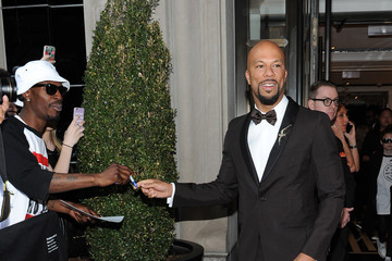 Common Met Gala 2015 Departures From The Mark Hotel - NYC