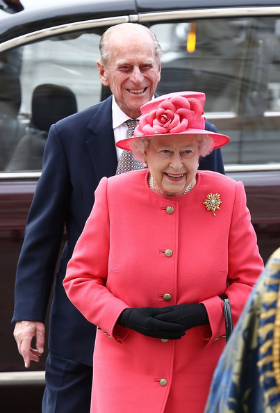 Queen Elizabeth II attends the Commonwealth day observance service at Westminster Abbey on March 10, 2014 in London, England.
