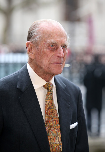 Prince Philip, Duke of Edinburgh attends the Observance for Commonwealth Day Service At Westminster Abbey on March 9, 2015 in London, England.