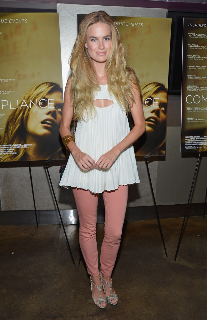 """Compliance New York Premiere: Alice Callahan In """"Compliance"""" New York Premiere"""