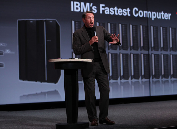 Computer Technology Leaders Speak At Oracle Open World Conference