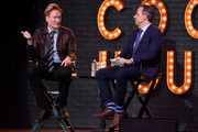 Conan O'Brien and Jake Tapper Photos Photo