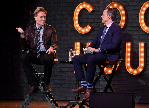 Conan O'Brien In Conversation With Jake Tapper [jake tapper,conan obrien in conversation with,conan obrien,performance,talent show,event,music,musician,performing arts,music artist,new york city,sony hall]