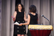 Tina Fey and Andrea Martin attend the Concert For America: Stand Up, Sing Out! at The Great Hall at Cooper Union on June 30, 2018 in New York City.