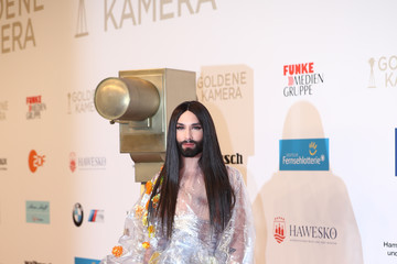 Conchita Wurst Goldene Kamera 2018 - Red Carpet Arrivals