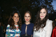 Coco Brandolini DÁdda, Eugenie Niarchos and Teresa Missoni attend the Conde' Nast International Luxury Conference Welcome Reception at Four Seasons Hotel Firenze on April 21, 2015 in Florence, Italy.