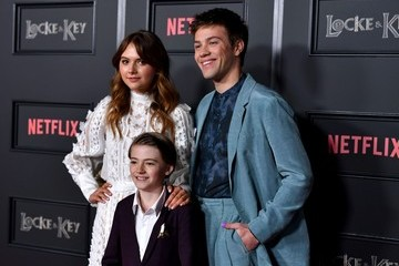"Connor Jessup Emilia Jones Premiere Of Netflix's ""Locke & Key"""