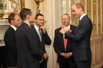 Connor Roe The Duke Of Cambridge Hosts A Reception For British Divers Involved In The Tham Luang Cave Rescue