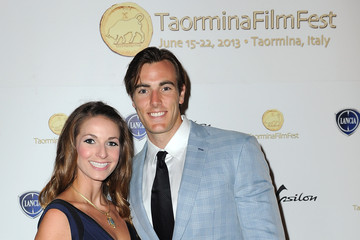 Conor Allyn Celebrities At The Lancia Cafe - Day 8 - Taormina Filmfest 2013