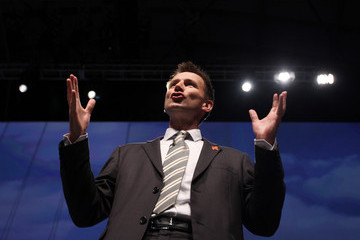 Jeremy Hunt The Conservatives Hold Their Annual Party Conference