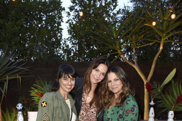 Constance Zimmer Sakara Life + Rothy's Celebrate 'Eat Clean Play Dirty' Cookbook Launch