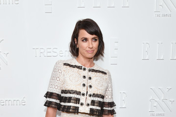 Constance Zimmer E!, ELLE & IMG Host NYFW Kickoff Party, a Celebration of Personal Style - Sponsored by TRESEMME - Arrivals