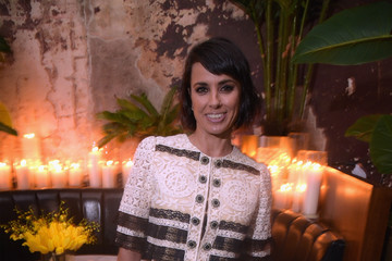 Constance Zimmer E!, ELLE & IMG Host NYFW Kickoff Party, a Celebration of Personal Style - Sponsored by TRESEMME - Inside