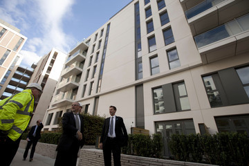 Jeremy Hunt Construction Continues on Olympic Village