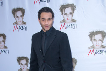 Corbin Bleu Arrivals at the 'Macbeth' Opening Night