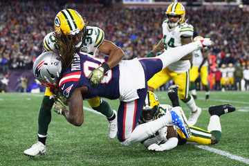 Cordarrelle Patterson Green Bay Packers vs. New England Patriots