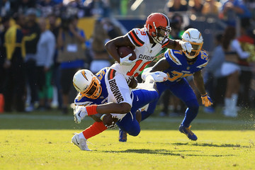 Corey Coleman Cleveland Browns v Los Angeles Chargers