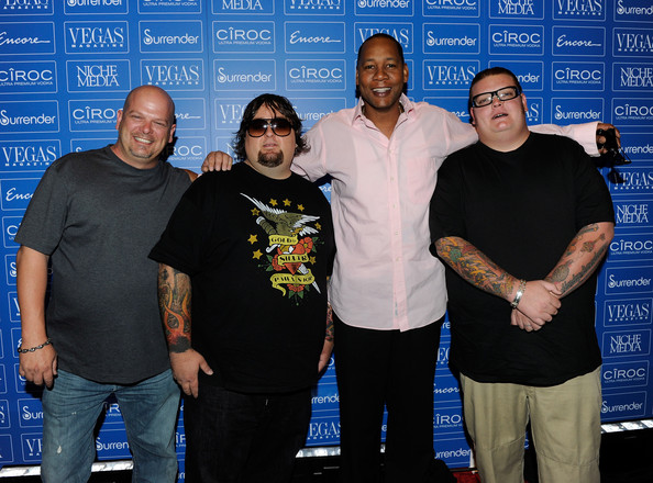 at encore in this photo mark curry rick harrison corey harrison