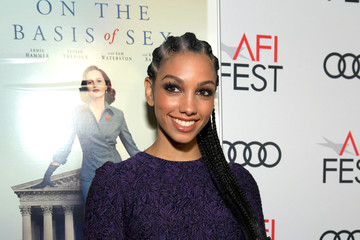"Corinne Foxx AFI FEST 2018 Presented By Audi - Opening Night World Premiere Gala Screening Of ""On The Basis Of Sex"" - Red Carpet"
