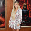 Corinne Olympios Premiere Of Warner Bros' 'Annabelle Comes Home' - Arrivals