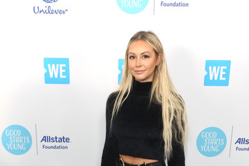 Corinne Olympios WE Day California To Celebrate Young People Changing The World
