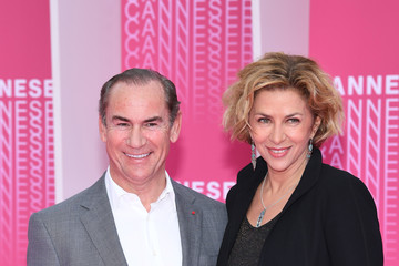 "Corinne Touzet ""Aqui En La Tierra"" and ""Cacciatore The Hunter"" Pink Carpet Arrivals - The 1st Cannes International Series Festival"