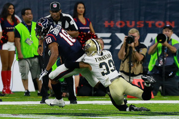 Cortland Finnegan New Orleans Saints v Houston Texans