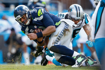 Cortland Finnegan Divisional Round - Seattle Seahawks v Carolina Panthers