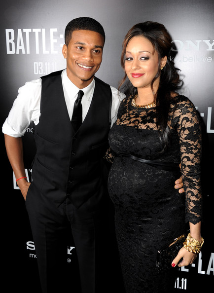 tia mowry and cory hardrict. In This Photo: Tia Mowry, Cory