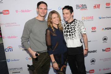 Cory Michael Smith Robin Lord Taylor 2015 Global Citizen Festival in Central Park to End Extreme Poverty by 2030 - VIP Lounge
