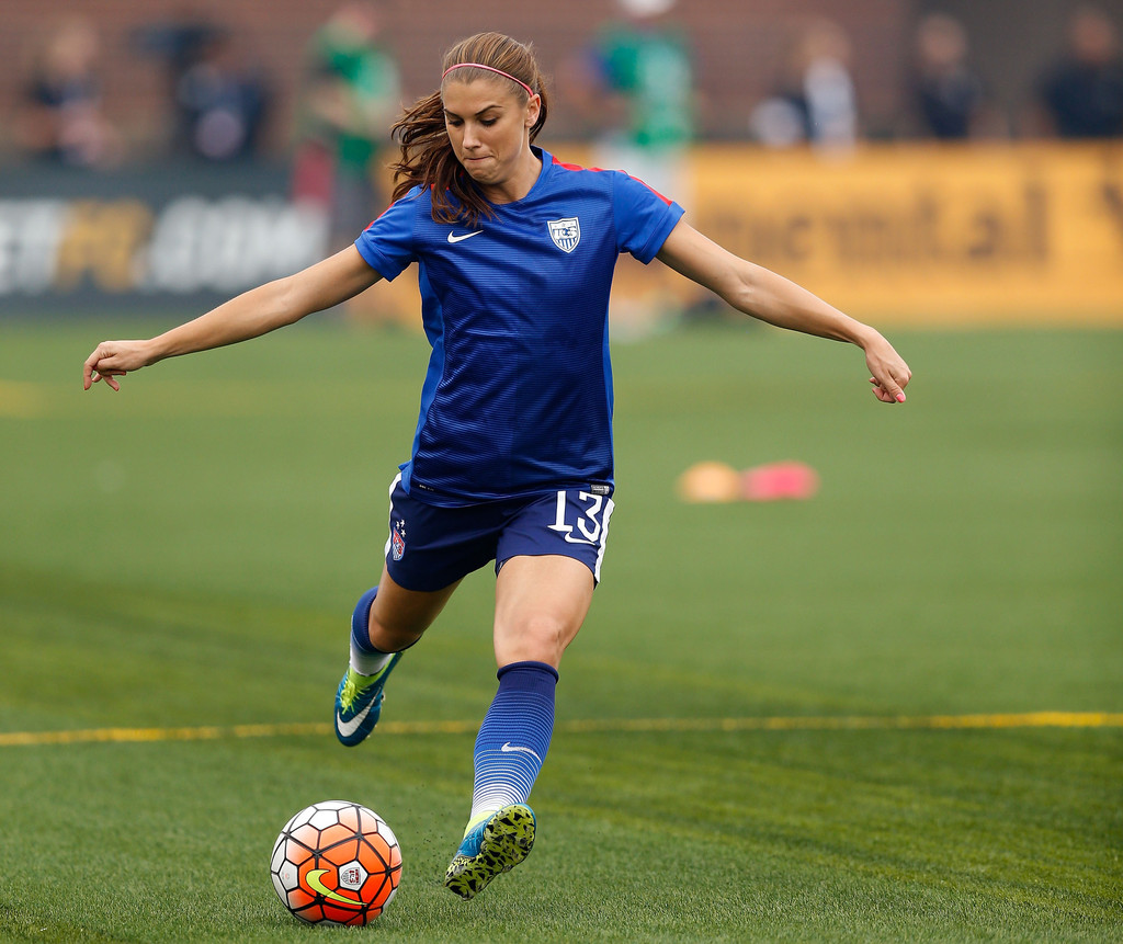 Who is alex morgan dating 7
