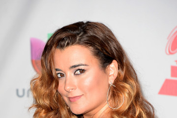 Cote de Pablo Press Room at the Latin GRAMMY Awards