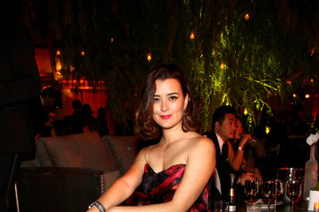 Cote de Pablo The Weinstein Company and Netflix Golden Globes Party