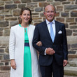 Count Amaury de Lannoy Baptism Of Prince Charles Of Luxembourg At L'Abbaye St Maurice De Clervaux