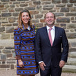 Countess Alice de Lannoy Baptism Of Prince Charles Of Luxembourg At L'Abbaye St Maurice De Clervaux