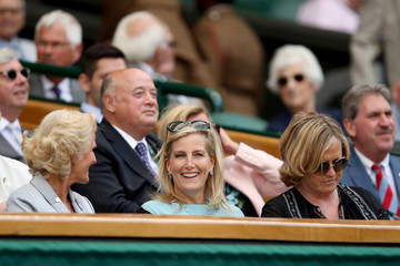 Countess of Wessex Day Nine: The Championships - Wimbledon 2018