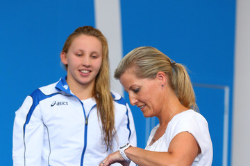 Countess of Wessex 20th Commonwealth Games: Swimming