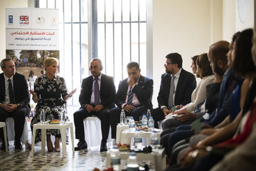 Countess of Wessex Tariq Ahmad The Countess Of Wessex Visits Lebanon