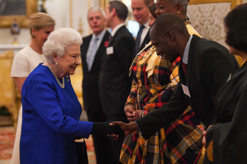 Countess of Wessex The Queen Hosts A Reception To Celebrate The Work Of The Queen Elizabeth Diamond Jubilee Trust