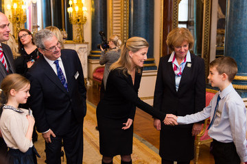 Countess of Wessex Buckingham Palace Guides Reception