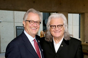 Kyle Young of the CMHOF (L) and Ricky Skaggs attend the 2018 Country Music Hall of Fame and Museum Medallion Ceremony honoring inductees Johnny Gimble, Ricky Skaggs and Dottie West at Country Music Hall of Fame and Museum on October 21, 2018 in Nashville, Tennessee.